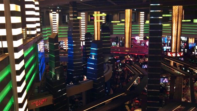 Mezzanine View of Planet Hollywood