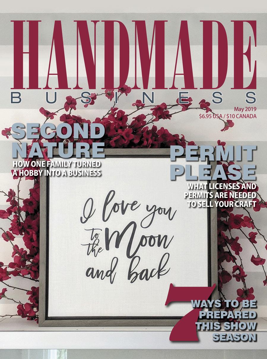 Handmade Business May 2019