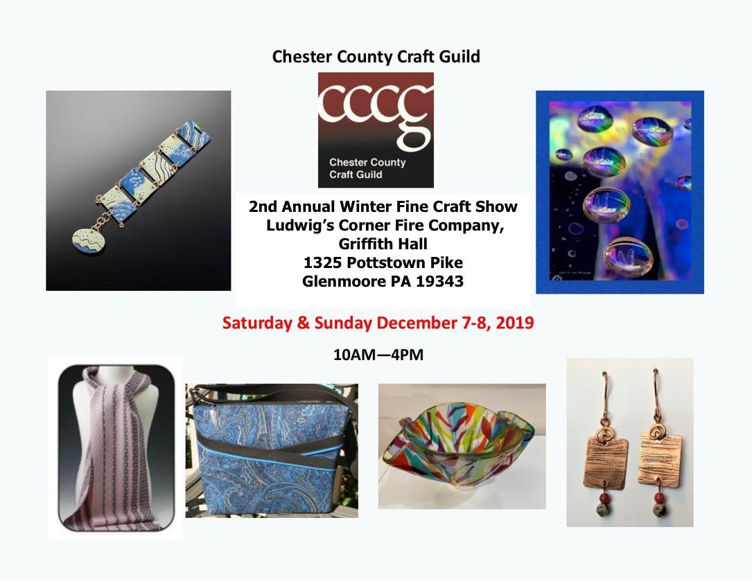 2nd Annual Chester County Craft Guild Winter Show