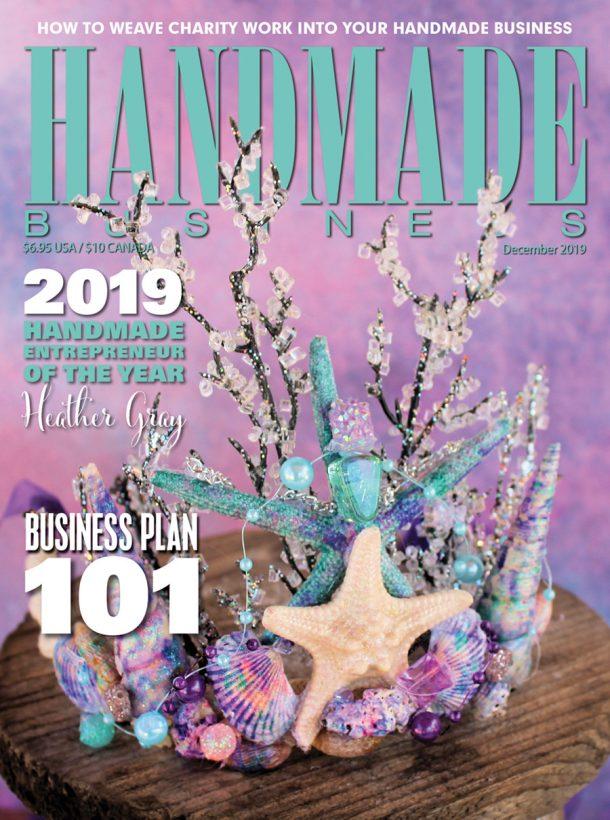 Handmade Business December 2019 Cover