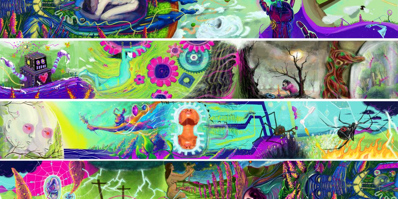 Digital Art Revolution: Collaborative Art Take-Over