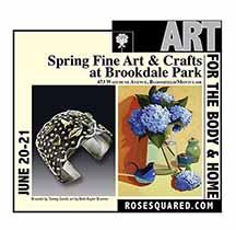 Spring Fine Art and Crafts at Brookdale Park