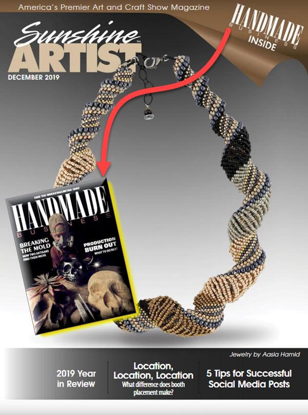 Handmade Business / Sunshine Artist January 2020
