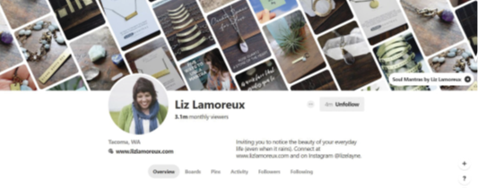 Create an experience for Your Pinterest Followers